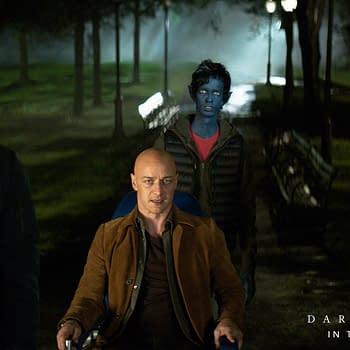 Nightcrawler Looks [badly] Photoshopped in New Dark Phoenix Image