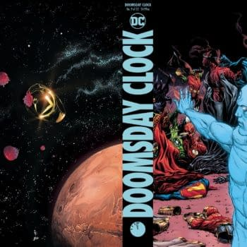 What's Happening With Doomsday Clock Hardcover?