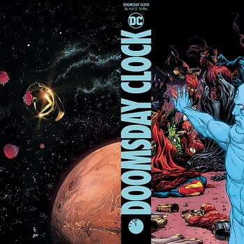 Whats Happening With Doomsday Clock Hardcover