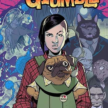 Grumble #1 Review: Aliens Demons and Talking Dogs oh My