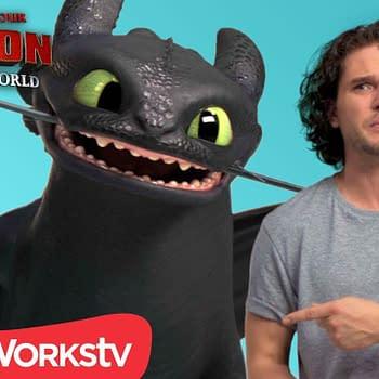 Kit Haringtons [Not So Great] Targaryen Skills: Meeting Toothless
