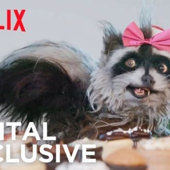 Rose Spreads Holiday Cheer at Netflix   The Curious Creations of Christine McConnell   Netflix