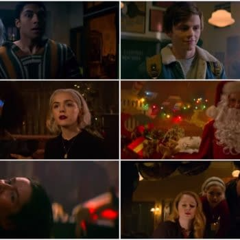 Chilling Adventures of Sabrina: A Midwinter's Tale – Seances, Evil Santas and Spells! (TRAILER)