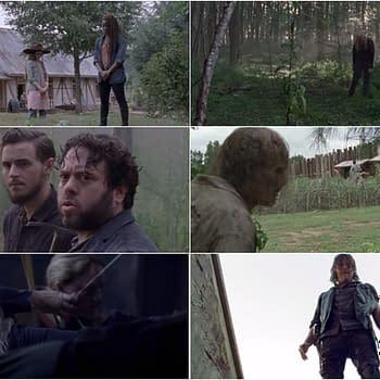 The Walking Dead Season 9b: Stork Arrives in February More Ezekiel Time Alien Abductions (UPDATE)