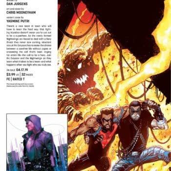 Dan Jurgens Takes Over Nightwing from Scott Lobdell in April