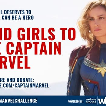 The #CaptainMarvelChallenge Wants to Help Young Girls See Captain Marvel In Theaters