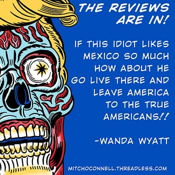 Mitch O'Connell Shares His Trump Billboard Reviews With The World