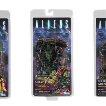 Aliens Series 13 Collage