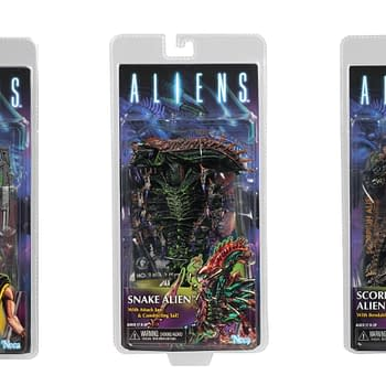 NECA Reveals Packaged Shots For Series 13 Aliens Figures