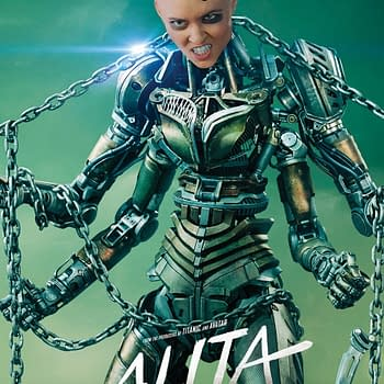 10 Character Posters from Alita: Battle Angel [with Killer Robots]