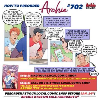 Jughead Bullies Reggie in Archies Latest FOC Pre-Order Comic