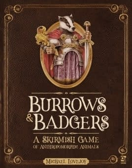 See a Miniature Come to Life for Osprey Games Burrows &#038 Badgers