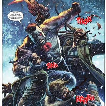 The Polar Vortex Reaches Bloodshot #0 in Free Comic Book Day 2019 Preview from Valiant