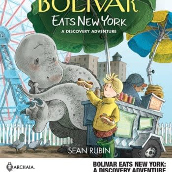 Bolivar Eats New York in Sean Rubin's New OGN at Archaia