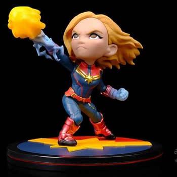 Captain Marvel Q-Fig Coming in April From Quantum Mechanix