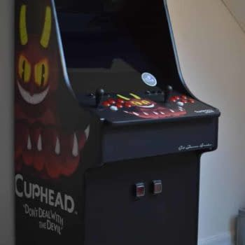 An Arcade Designs Made the Ultimate Cuphead Cabinet