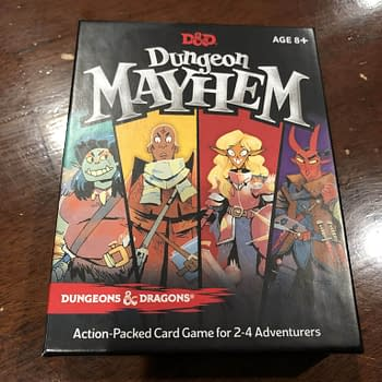 Review: Dungeons &#038 Dragons Dungeon Mayhem Card Game
