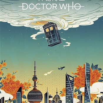 Doctor Who: BBC Unveils Posters Celebrating Shows China Launch