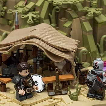 This LEGO Alfheim from God of War is INCREDIBLE