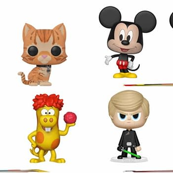 Funko Round-Up: Captain Marvel Mickey Mouse Ad Icons and Star Wars