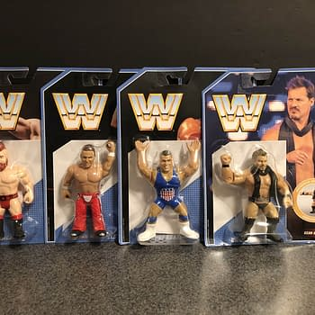 Lets Take a Look at the New Wave of Mattels WWE Retro Figures