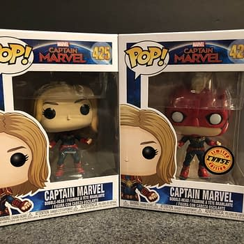Captain Marvel Has Two Of the Coolest Funko Pops Released Lately