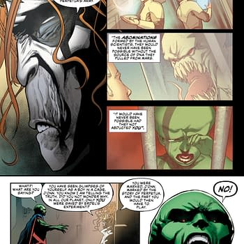 Find Out What Martian Manhunter Has in Common with Ike Perlmutter in This Weeks Justice League #16