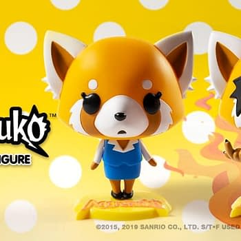 Kidrobot Introduces Two New Aggretsuko Figures More to Come