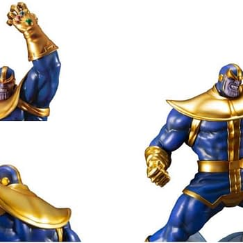 The Next Avengers ARTFX Kotobukiya Statue is Thanos