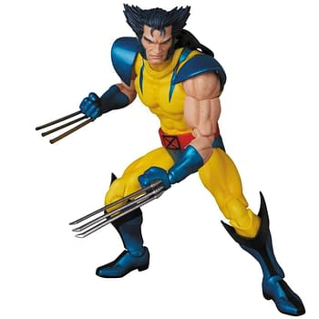 First Pics of MAFEX Comics Wolverine Figure Surface Online
