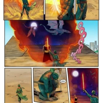 YouNeek Studios' Malika – Fire And Frost – Free Comic Book Day 2019 Preview