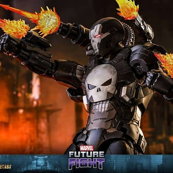 Surprising Hot Toys Announcement: Marvel Future Fight War Machine Punisher