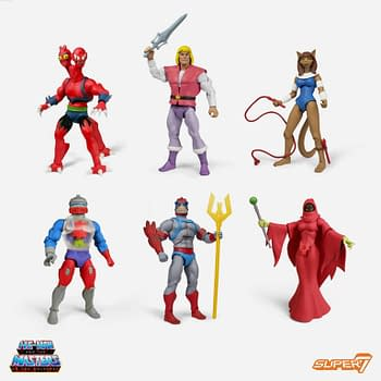 Masters of the Universe Club Grayskull Wave 4 For Order From Super7