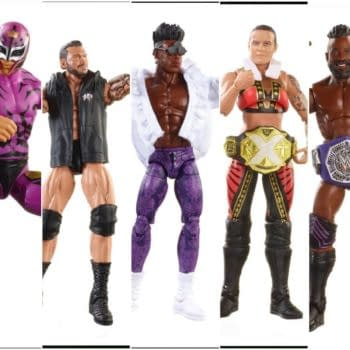 Mattel WWE Eilte 67 Collage