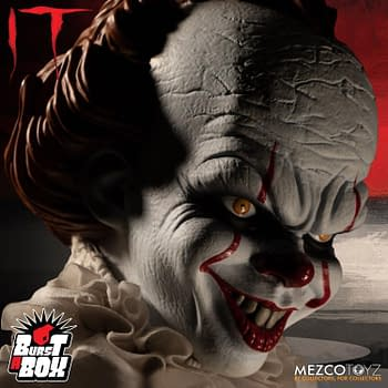 Pennywise Gets a New Burst-A-Box From Mezco Toyz This Summer