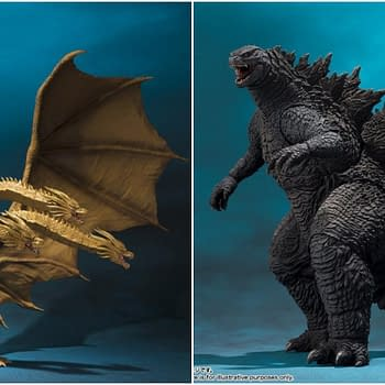 S.H. MonsterArts Godzilla: King of the Monsters Figures Up For Order