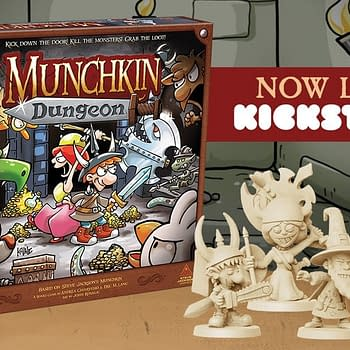 Munchkin Gets the Tabeltop Treatment with New Kickstarter Campaign