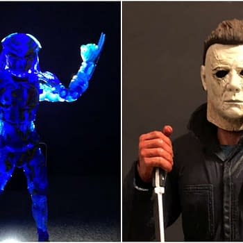 NECA Releases: Thermal Predator and Halloween Michael Myers