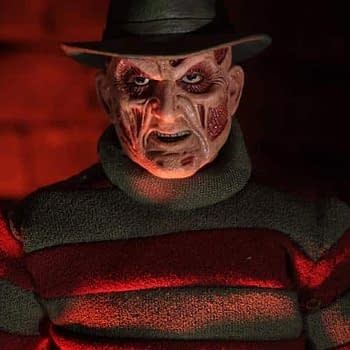 NECAs Newest Freddy Krueger Figure is Form New Nightmare