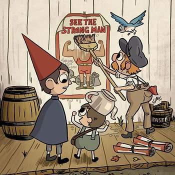BOOM Announces New Over the Garden Wall OGN Circus Friends