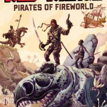 Joe and Keith Lansdale Talk Red Range: Pirates of Fireworld, Now on #Kickstarter