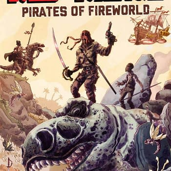 Joe and Keith Lansdale Talk Red Range: Pirates of Fireworld Now on #Kickstarter