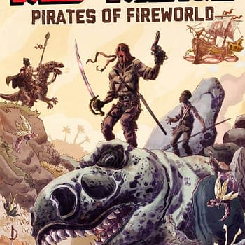 Its Alive to Publish First New Series Red Range: Pirates of Fireworld by Keith Lansdale