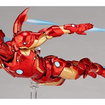 Iron Man is the Newest Marvel Amazing Yamaguchi Revoltech Figure