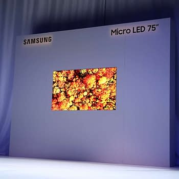 Samsung Unveils a 75 4K Modular Micro LED Display at CES