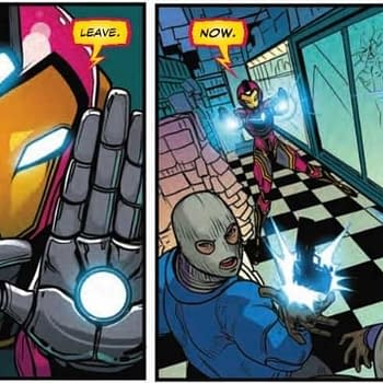 The Least You Can Do is Get Her Name Right&#8230Next Weeks Ironheart #2