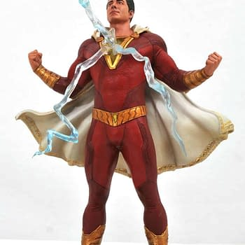 Zachary Levis Shazam Gets a Gallery Statue From Diamond Select