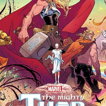 Aaron and Dautermans Mighty Thor #1 Reprinted in 3D and a Polybag for April