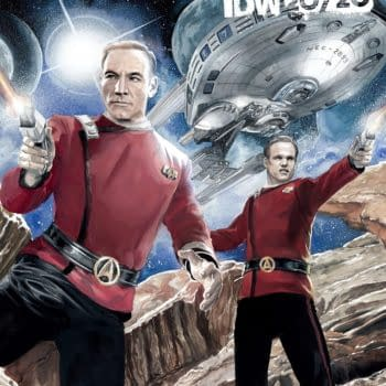 IDW's Young Picard Stargazes with Fantastic Star Trek: 20/20