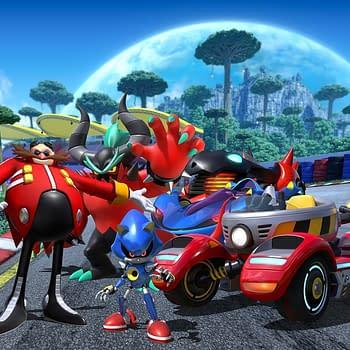 Team Sonic Racing Reveals Team Eggmans Racing Companions